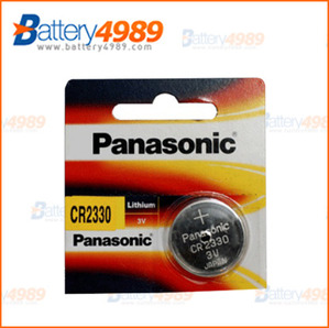 PANASONIC  CR2330  (3V 265mAh)